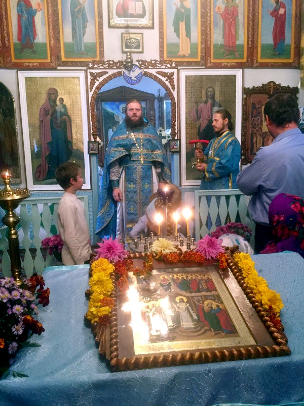 Престольный праздник Покрова Пресвятой Богородицы г. Тайынша