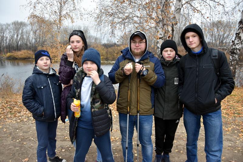 Туристический поход скаутского отряда «Моя Малая Родина»