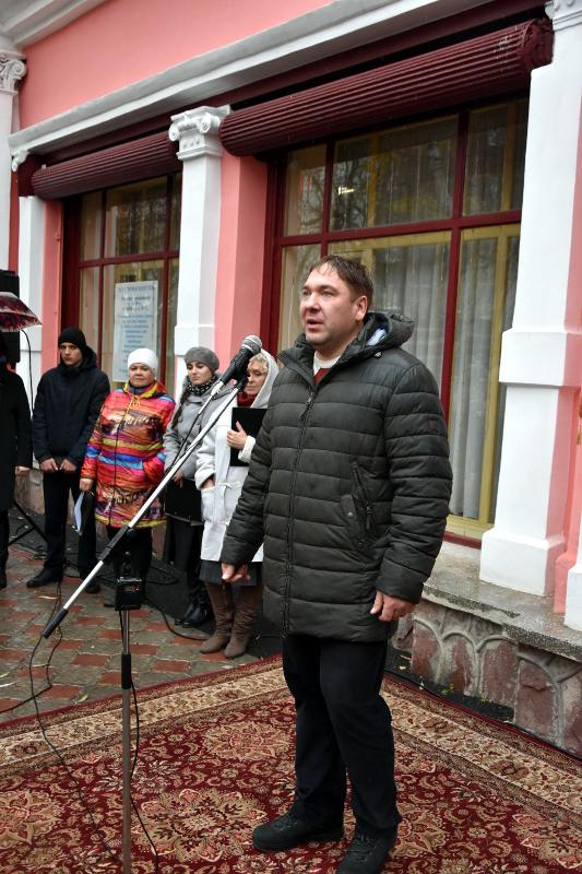 Состоялось открытие памятной доски Владимиру Ивановичу Черемисинову