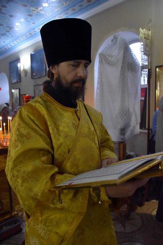 Архиерейская Литургия в Неделю 20-ю по Пятидесятнице