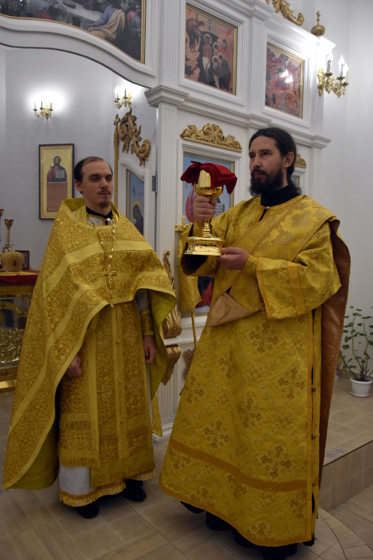 Архиерейская Литургия в Неделю 23-ю по Пятидесятнице