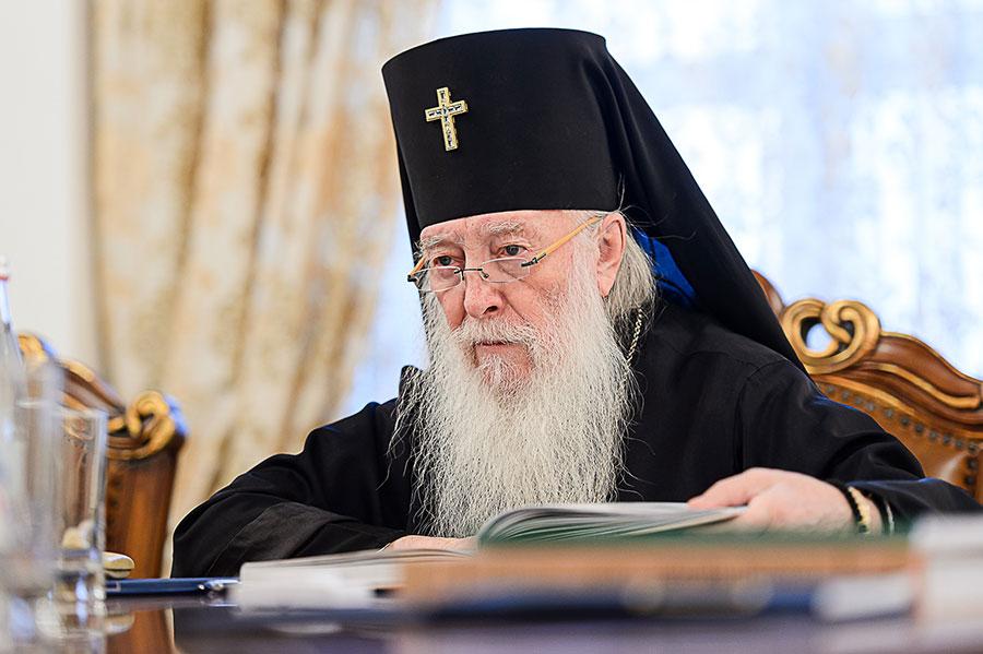 Правящий Архиерей принял участие в заключительном заседании Синода в 2019 году Митрополичьего округа Русской Православной Церкви в Республике Казахстан