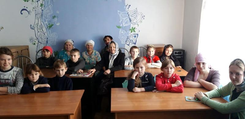 В воскресных школах епархии прошли открытые уроки, посвящённые Феодоровской иконе Божией Матери
