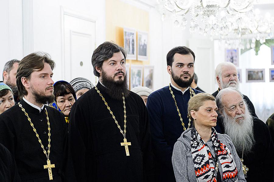 В духовно-культурном центре Православной Церкви Казахстана в Нур-Султане открылась выставка, посвященная новомученикам и исповедникам ХХ столетия