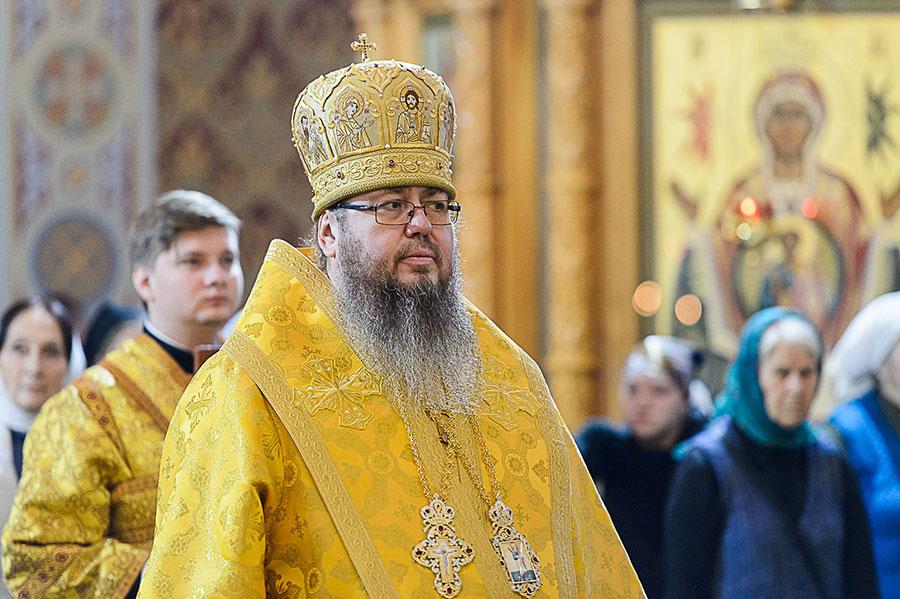 Правящий архиерей сослужил Главе Православной церкви Казахстана в Софийском соборе Иверско-Серафимовской обители
