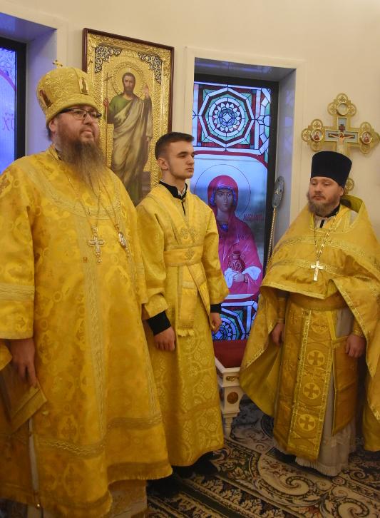 Архиерейская Литургия в Неделю 28-ю по Пятидесятнице