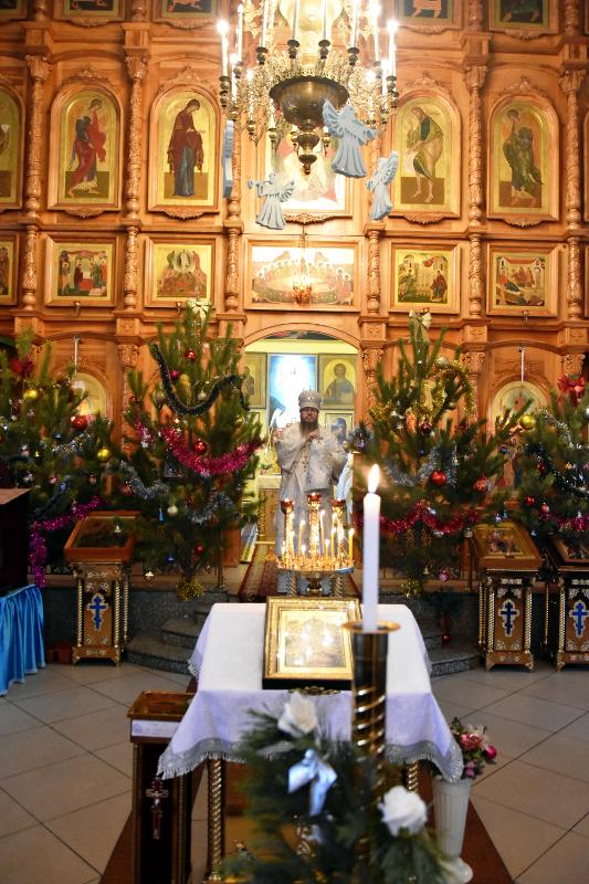 Рождественский сочельник в кафедральном соборе