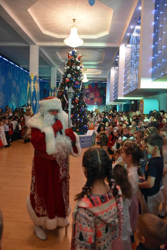 Архиерейская Рождественская елка в кафедральном граде