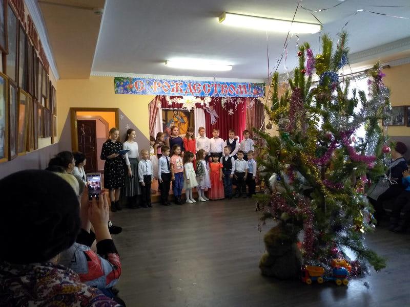 Рождество Христово в селе Архангельское