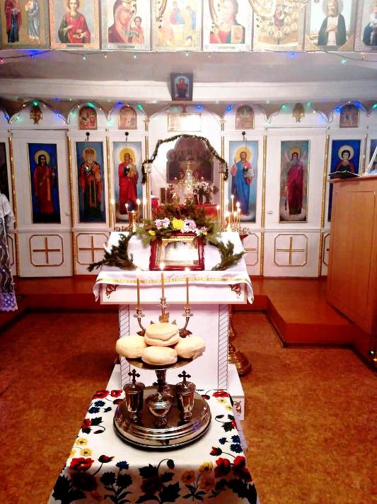 Светлый праздник Рождества Христова встретили прихожане Архангельского храма с. Пресновка
