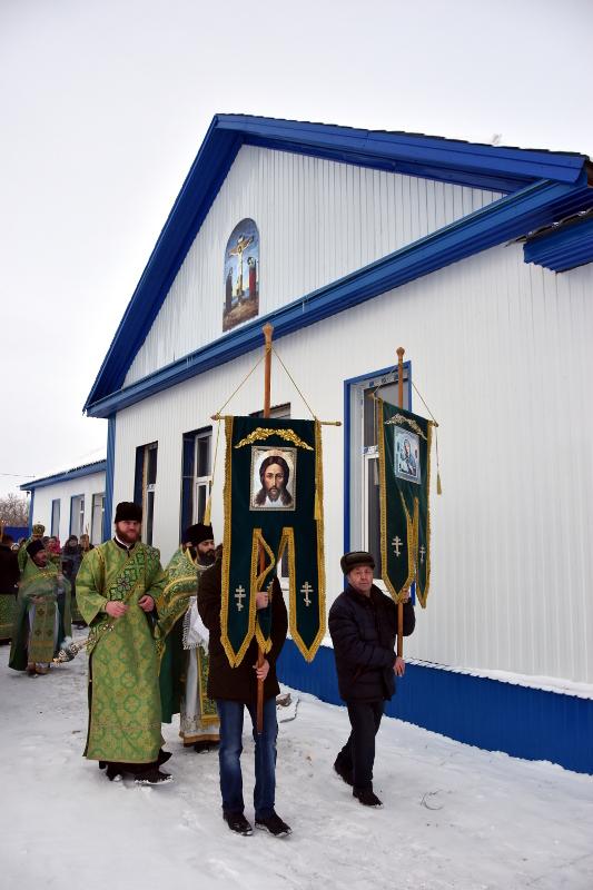 Престольный праздник храма в честь прп. Серафима Саровского с. Смирново