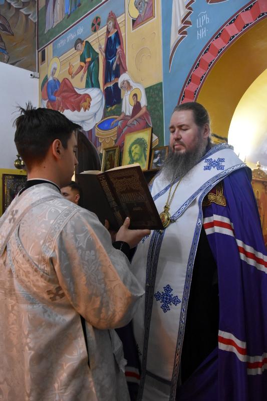 Епископ Владимир совершил Великое освящение воды в сельских приходах