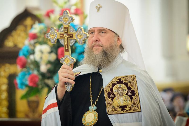 Митрополит Астанайский и Казахстанский Александр
