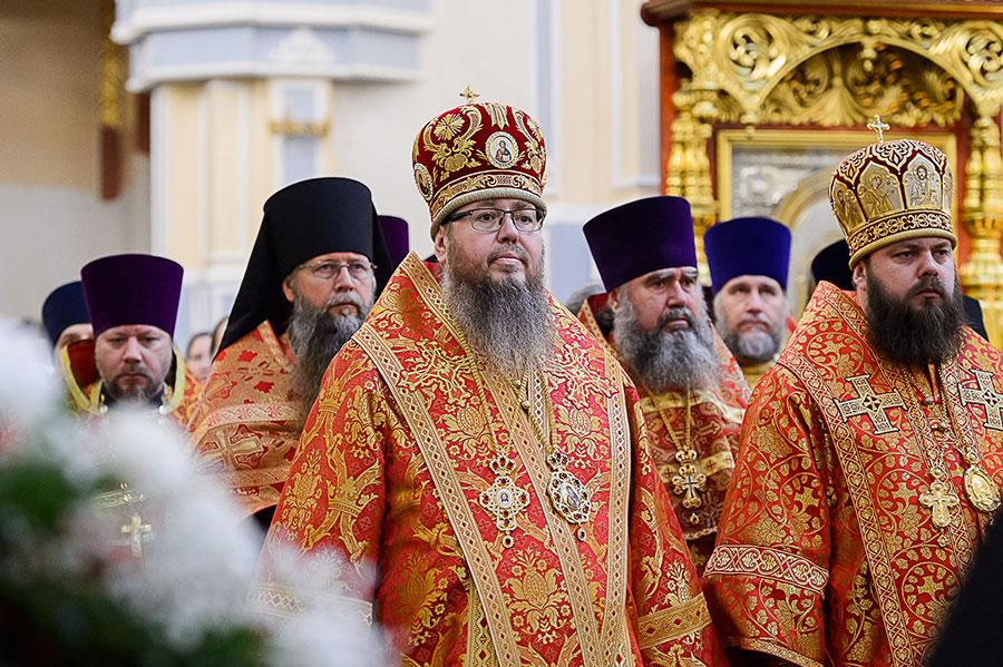 Преосвященнейший епископ Владимир принял участие в ежегодных торжествах в честь мученицы Агафии Панормской в г. Алма-Ате