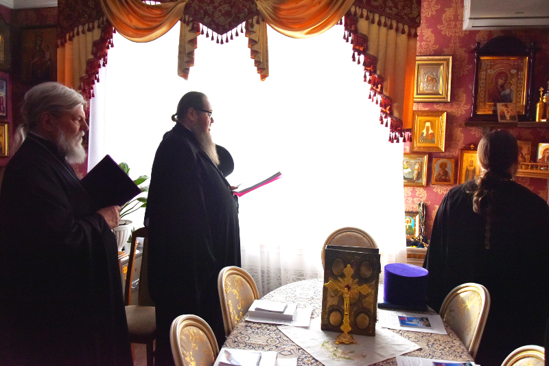 Заседание Епархиального Совета состоялось в Петропавловске