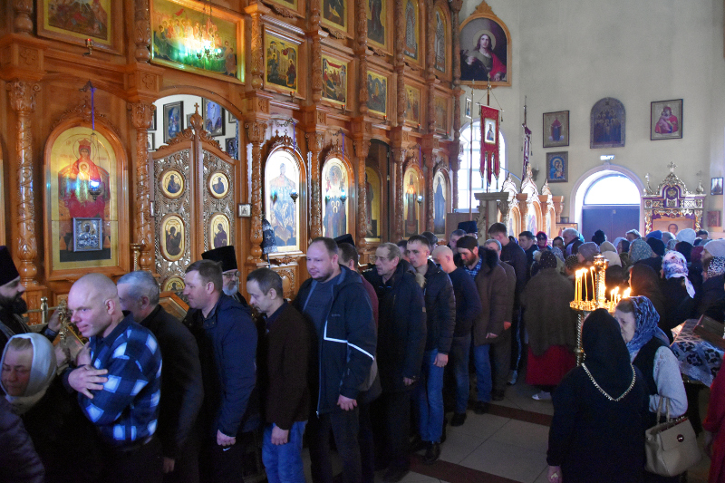 Чин прощения состоялся в кафедральном соборе