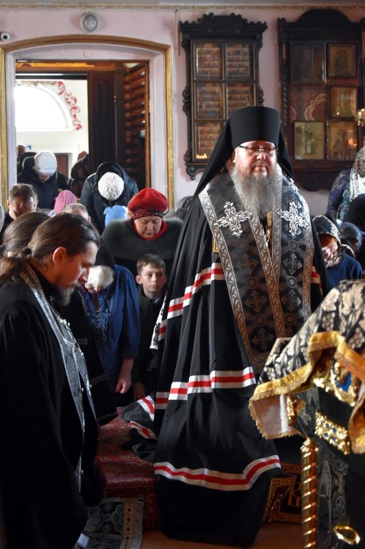 Чтение Великого покаянного канона прп. Андрея Критского в среду первой седмицы Великого Поста