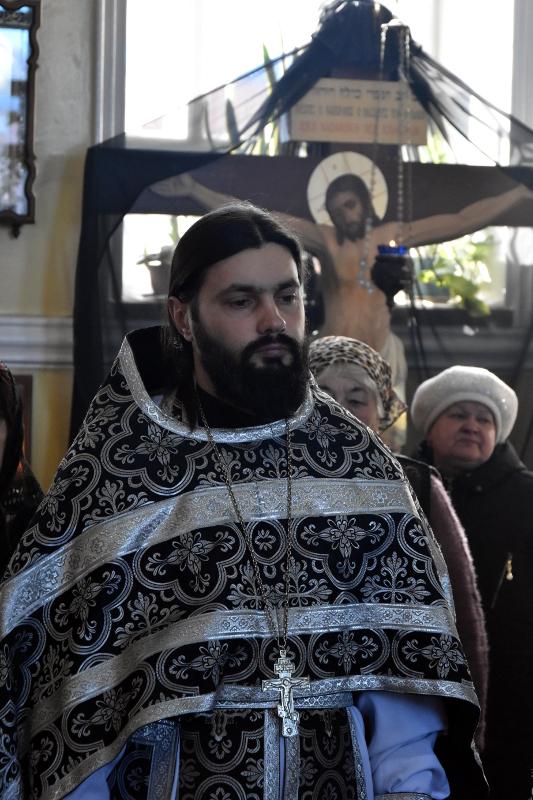 Литургия Преждеосвященных Даров в пятый день Святого Поста