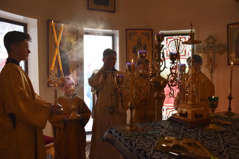 Божественная Литургия в первую субботу Великого Поста