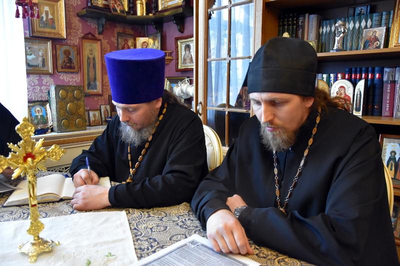 Внеплановое заседание Епархиального Совета состоялось в Петропавловске