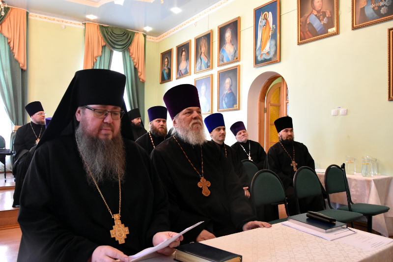 Собрание духовенства Петропавловской епархии