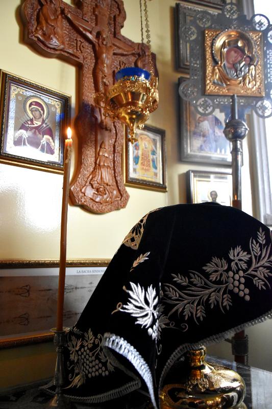 Литургия Преждеосвященных Даров в праздник Иконы Божией Матери «Споручница грешных»