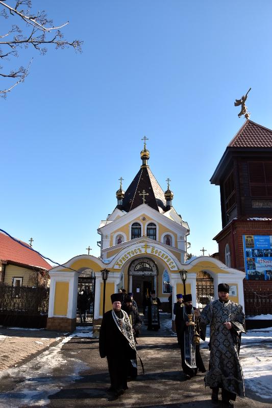 Управляющий епархией совершил молебен об избавлении Северного Казахстана от распространения губительной инфекции