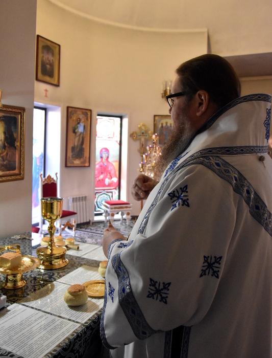 Архиерейская Литургия в Лазареву субботу