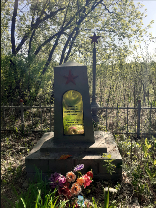 Молитва на могилах героев