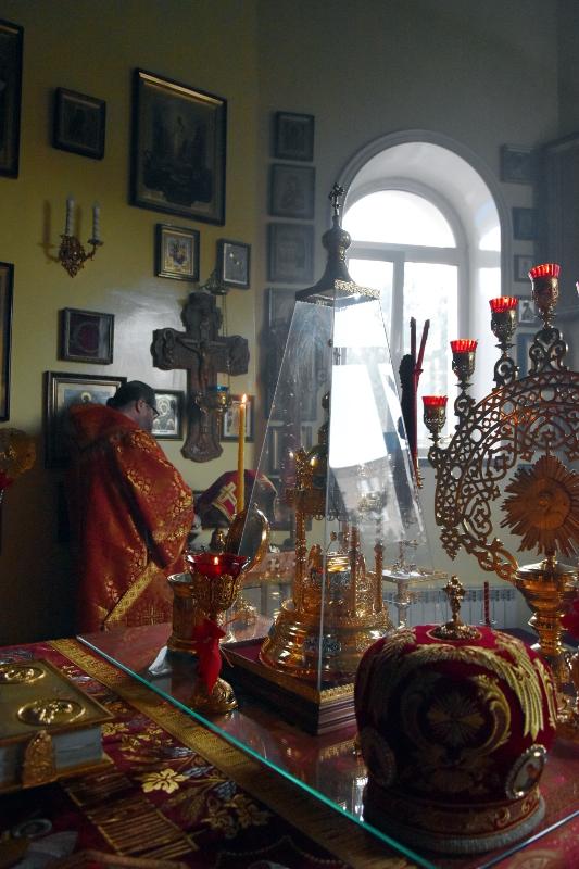 Праздник Преполовения Пятидесятницы в кафедральном соборе