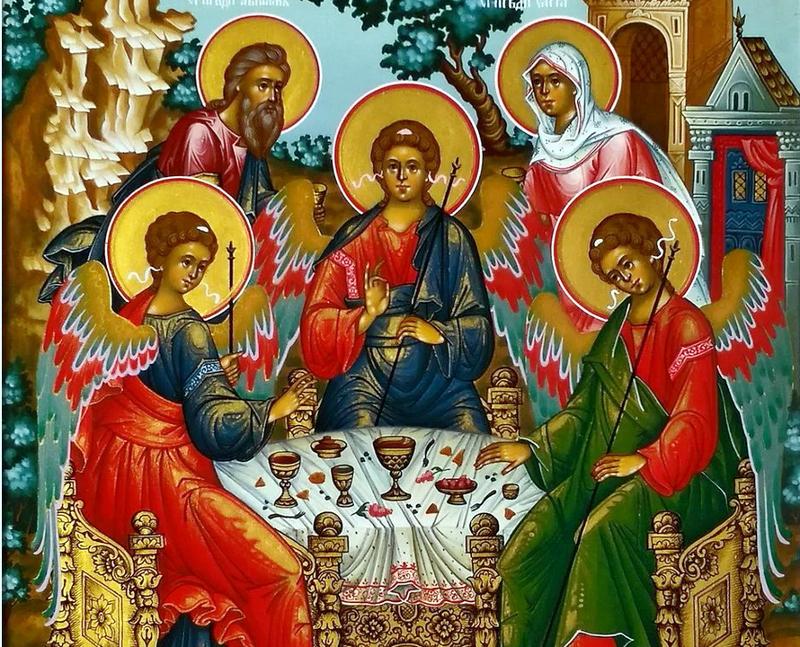 Архиерейская Литургия в день Отдания Праздника Пятидесятницы