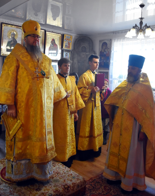 Архиерейская Литургия в день памяти святителя Иоанна Тобольского в с. Новокаменка