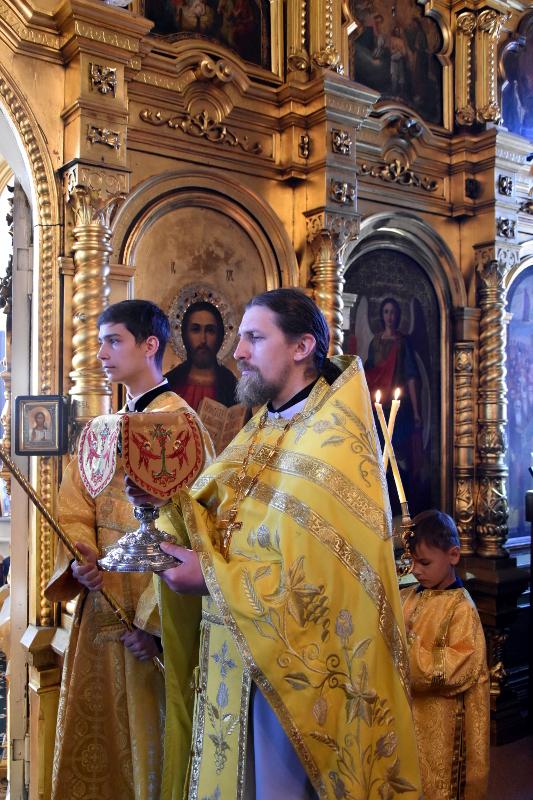 Архиерейская Литургия в Неделю 3-ю по Пятидесятнице
