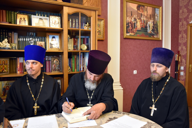 Состоялось очередное заседание Епархиального совета Петропавловской и Булаевской епархии