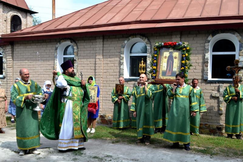 Престольный праздник на приходе города Сергеевки