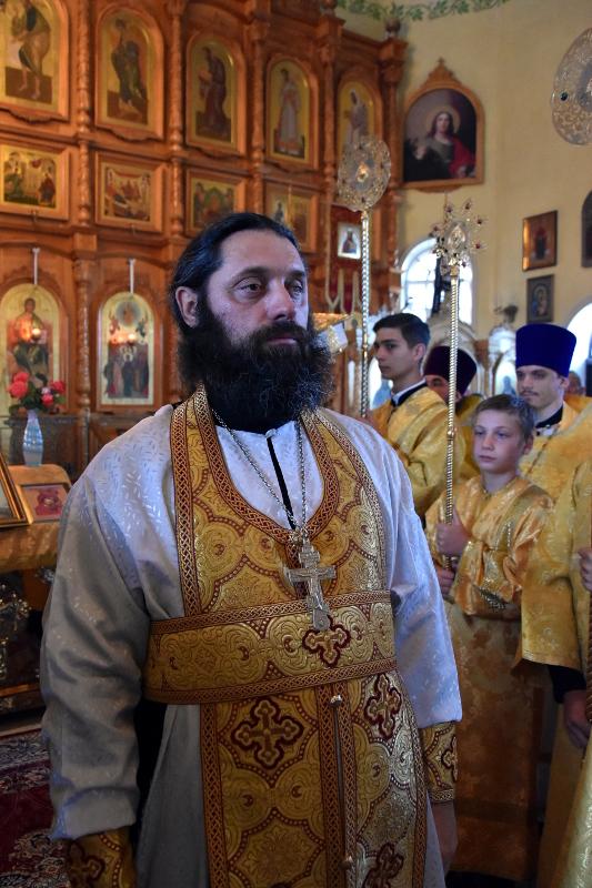 Крещение Руси. Тезоименитство правящего архиерея