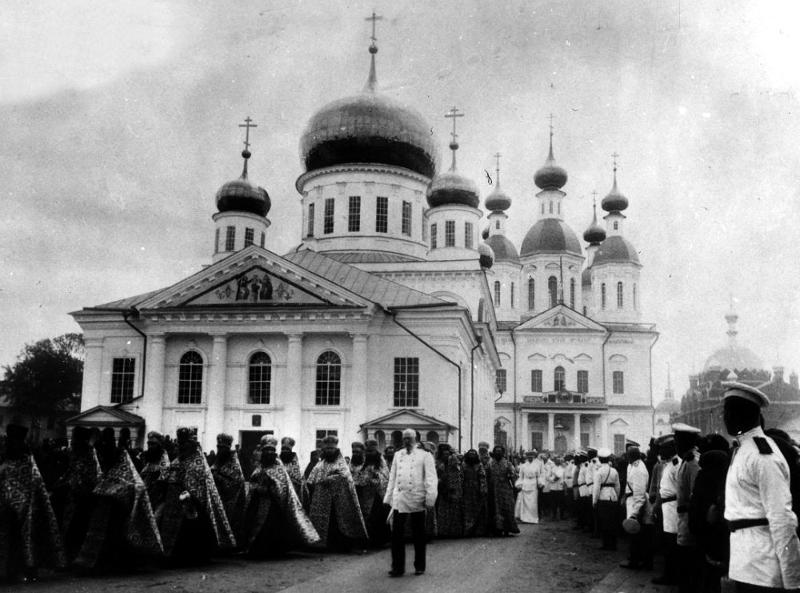 Архиерейская Литургия в день памяти прп. Серафима Саровского