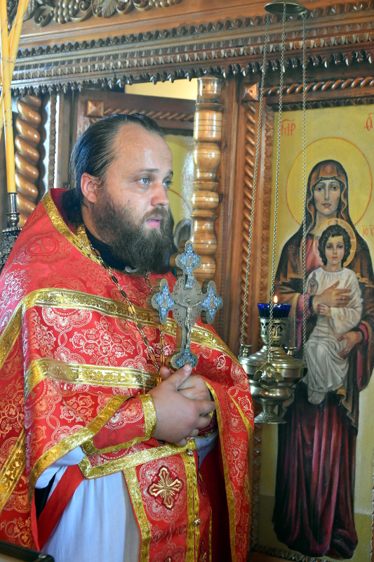 Архиерейская Литургия в престольный праздник пророка Илии с. Лебяжка