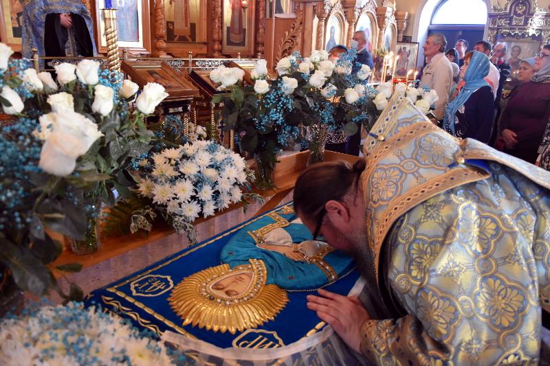 Богородичная Пасха в кафедральном соборе