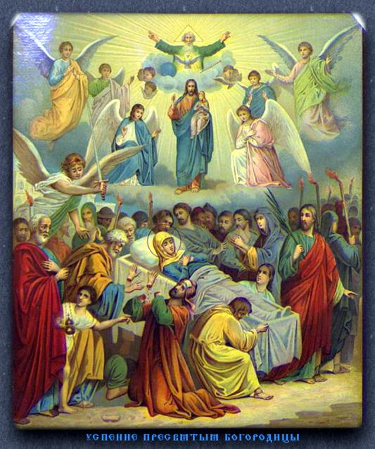 В Кафедральном соборе Вознесения Господня состоялся Чин Погребения Божией Матери