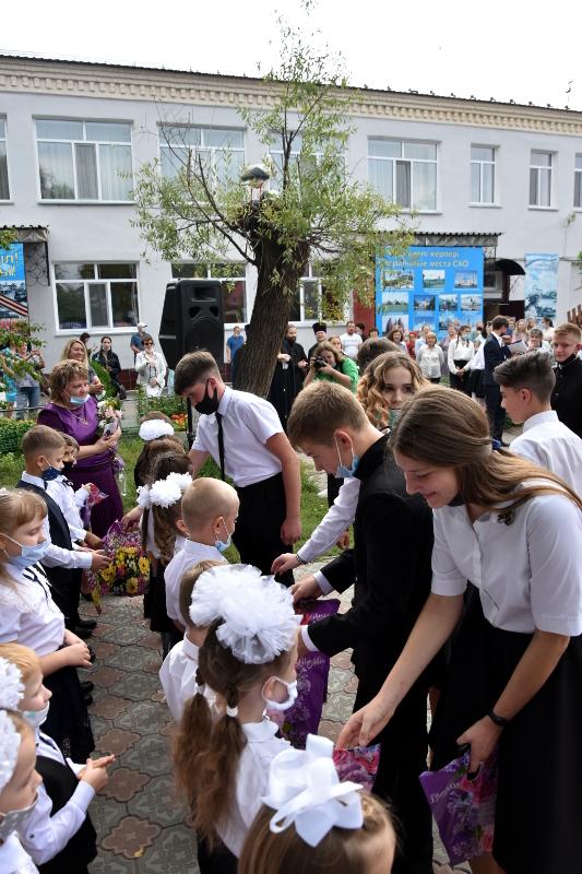 День Знаний в школе в честь прп. Сергия Радонежского