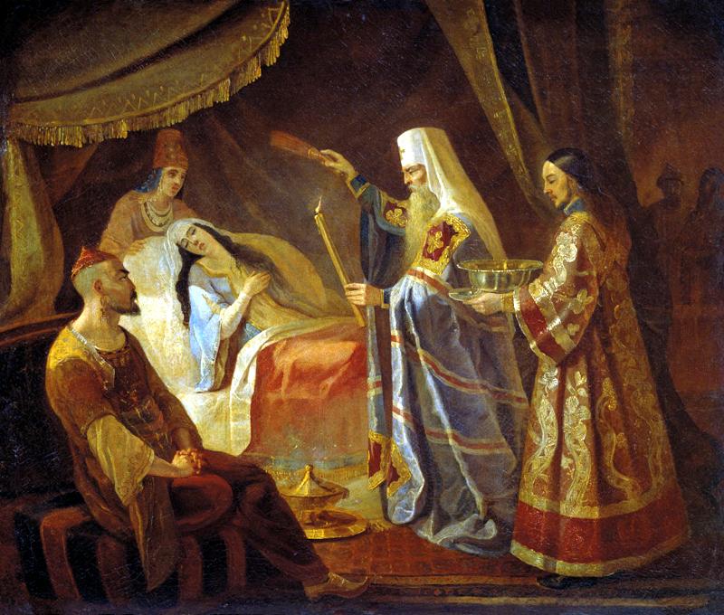 Святитель Петр и ханша