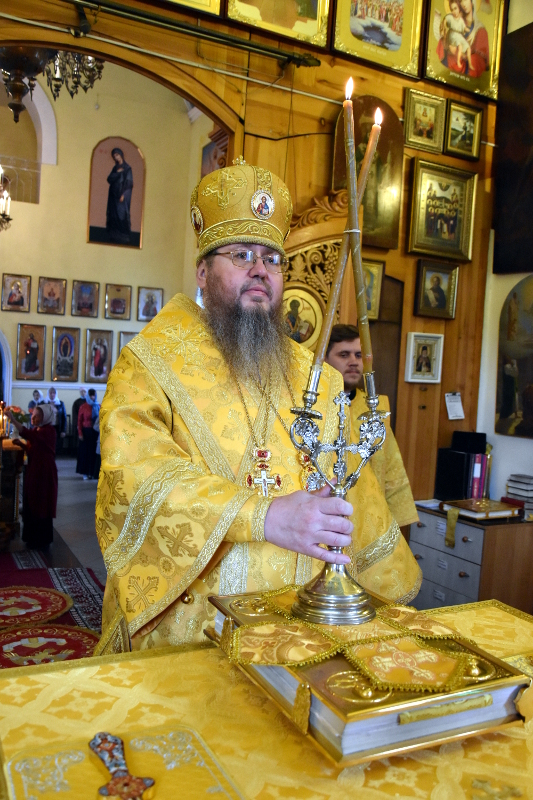 Архиерейская Литургия в Неделю 14-ю по Пятидесятнице