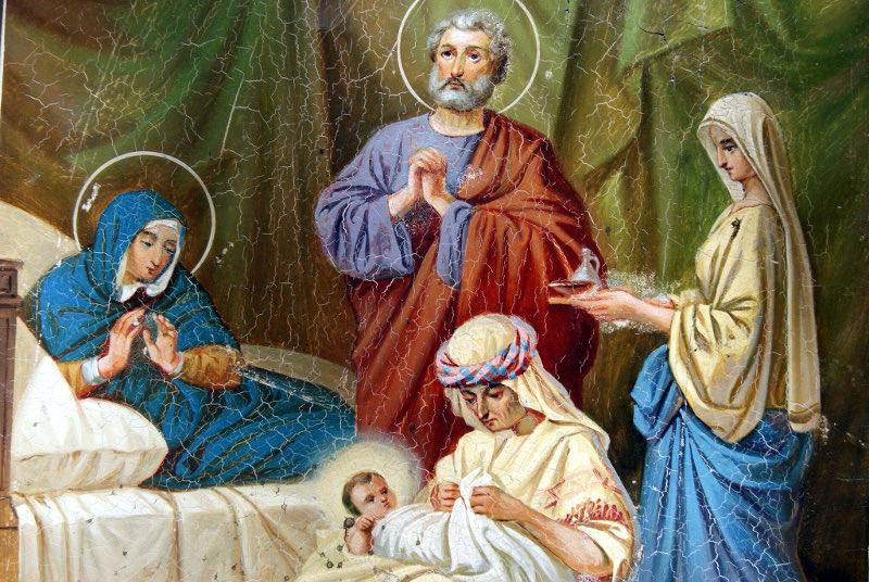 Преосвященный Владимир, епископ Петропавловский и Булаевский совершил Всенощное Бдение под праздник Рождества Божией Матери в храме пророка Божия Илии с. Имантау