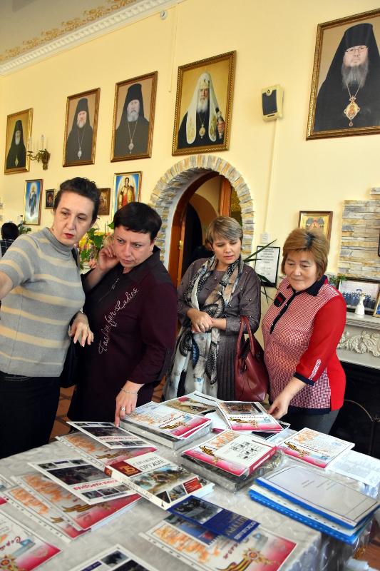 Награждение лучших преподавателей истории школ города состоялось в Епархиальном управлении