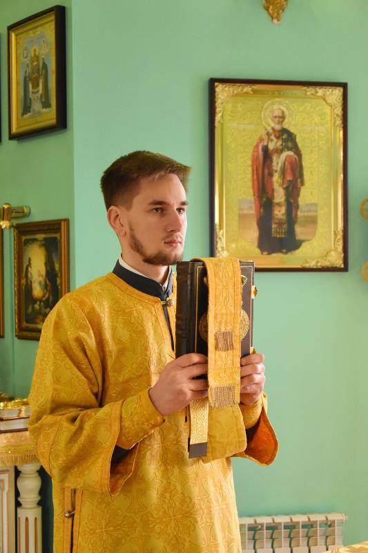 Божественная Литургия в день памяти апостола Иоанна Богослова