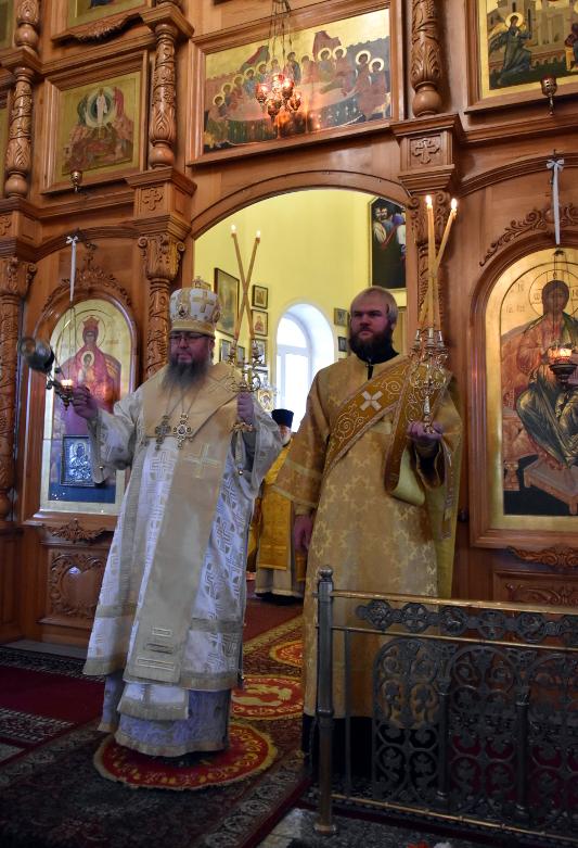 Архиерейская Литургия в Неделю 18-ю по Пятидесятнице