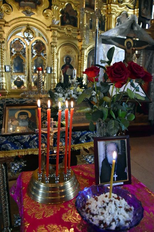 В храме Всех Святых почтили память протоиерея Иоанна Блохина