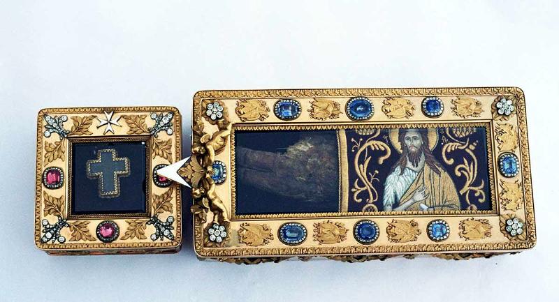 Десная (правая) рука святого Иоанна Крестителя