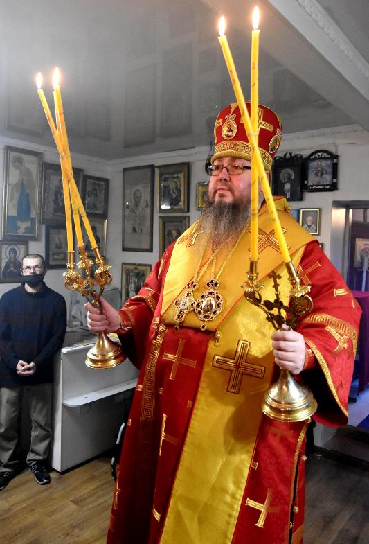 Архиерейская Литургия в Неделю 22-ю по Пятидесятнице